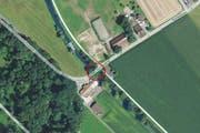 Die Suhrenbrücke zwischen Winikon und Triengen. (Bild: map.search.ch)