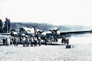 Am 25. August 1952 wurde der viermotorige US-Bomber aus den Tiefen des Zugersees geholt. (Bild: PD)