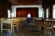 Der Adlersaal im Hotel Adler in Schüpfheim. (Bild Chris Iseli/Neue LZ)