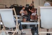 Ein Konzert bei der Eröffnung der Box des Luzerner Theaters. Nun geht die Spielstätte für einige Monate in andere Hände über. (Bild: Boris Bürgisser (Luzern, 10. September 2016))