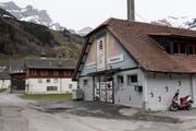 Standort der geplanten Produktionsstätte der Schaukäserei Engelberg. (Bild: Corinne Glanzmann (11.4.2018))