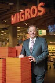 Felix Meyer (59) ist Geschäftsführer der Genossenschaft Migros Luzern (Bild: Dominik Wunderli (LZ))