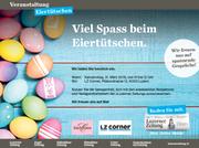 Eiertütschen am Karsamstag in Luzern. (Bild: LZ)