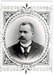 Xaver Vonarburg, Gründer des Unternehmens Vonarburg und Ururgrossvater Peter Vonarburgs. Das Bild entstand um 1895. (Bild: zvg.)