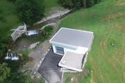 Die neue Zentrale aus der Luft. (Bild: zvg)