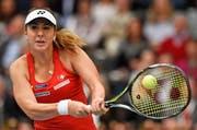 Belinda Bencic: «Es ist ein besonderes Erlebnis und eine grosse Ehre für mich, bei der Rückkehr der WTA Tour in die Schweiz dabei zu sein». (Bild: AP / Jens Meyer)