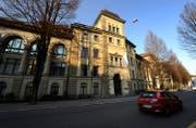 Aussenansicht des Luzerner Kantonsgerichts am Hirschengraben in Luzern. (Archivbild: Maria Schmid)