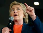 Ex-Präsidentschaftskandidatin der Demokraten, Hillary Clinton. (Bild: John Locher/EPA)