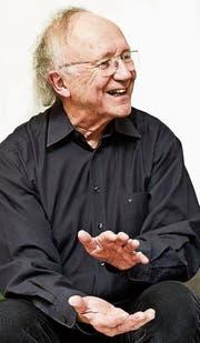 Komponist Heinz Holliger im Gespräch über seine neue Oper «Lunea». (Bild: Frank Blaser)