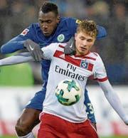 Der 17-jährige HSV-Stürmer Jann-Fiete Arp. (Bild: Axel Heimken/Keystone)