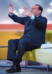 Greift wieder nach der Macht: Silvio Berlusconi (81). (Bild: Angelo Carconi/EPA (Rom, 15. Februar 2018))