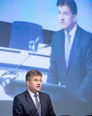 Der slowakische Aussenminister Miroslav Lajcák. (Bild: Thierry Monasset/Keystone (Brüssel, 4. Oktober 2016))