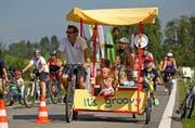 Die ganze Familie auf den Beinen: Am Sonntag werden bei schönem Wetter bis zu 30'000 Teilnehmer erwartet. (Bild Philipp Schmidli)