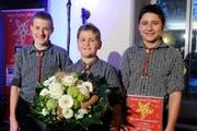 Tagessieger Sparte Volsmusik: Trio Seewälle (Bild: PD / Kurt Meier)