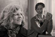 Die Schweizer Literaturpreisträgerinnen Vera Schindler-Wunderlich (links) und Rose Marie Pagnard eröffnen am Donnerstag das Literaturfest in der Zentral- und Hochschulbibliothek mit einer Lesung. (Bild: PD)
