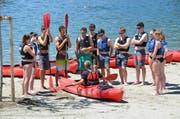 Wassersport mit Kanu, Segeln und Standuppadel am Montag (Bild: Wipfli Adrian)