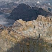 Der Dent de Morcles in den Waadtländer Alpen. (Bild: Bernhard Edmaier)