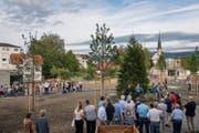 Der Rigiplatz ist neu Tempo-20-Zone. (Bild: Christian H. Hildebrand (Cham, 16.06.2017))
