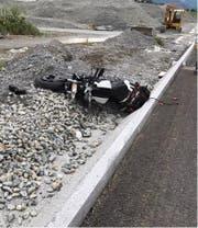 Beim Unfall wurden zwei Personen verletzt. (Bild: Kantonspolizei Uri)