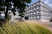 Hauptsitz der Nidwaldner Kantonalbank in Stans. (Archivbild Keystone)