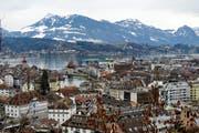 Blick auf die Stadt Luzern. (Bild: Corinne Glanzmann)