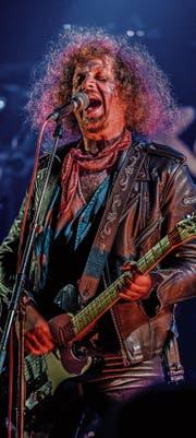 Liebt den Rock: Luke Gasser (51). (Bild: Mike Weibel)