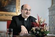 «Die Kirche ist weder links, noch rechts, noch in der Mitte»: Martin Grichting, Generalvikar des Bistums Chur. (Bild: Corinne Glanzmann (Chur, 18. Januar 2018))