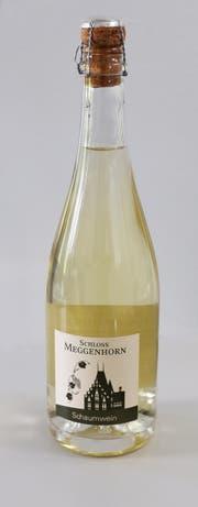 Eine Flasche Schaumwein Meggenhorn. (Bild: PD)