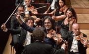 Glänzend disponiert: der griechische Violinist Leonidas Kavakos (49). (Bild: Peter Fischli/Lucerne Festival)