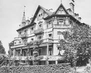 Das frühere Domizil der Frauenschule auf dem Hitzlisberg in Luzern. (Bild: PD)