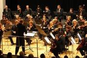 Der Orchesterverein Nidwalden am Neujahrskonzert. (Bild André A. Niederberger/Neue NZ)