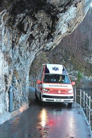 Das neue Ambulanzfahrzeug im Einsatz (Bild: PD)