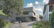 Visualisierung Bauprojekt Futura in Greppen. (Bild: Visualisierung: Gemeinde Greppen.)