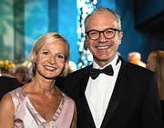 Stadträtin Manuela Jost (mit Partner Dominique Criblez): «Frauen können genauso gut dirigieren wie Männer.» (Bilder Roger Grütter)