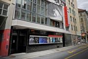 Aussenansicht des Kino Limelight an der Stadthofstrasse 5 in Luzern. (Bild: Pius Amrein/Neue LZ)