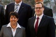 Die FDP des Kantons Schwyz setzt auf ihre bisherigen Regierungsräte Petra Steimen und Kaspar Michel. (Bild: Archiv Keystone/Sigi Tischler)