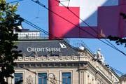 Die Libor-Untersuchung der Weko richtet sich unter anderem auch gegen die Credit Suisse. (Bild: Archiv / Keystone / Alessandro della Bella)