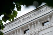 Aussenansicht des Bundesstrafgerichts in Bellinzona. (Symbolbild) (Bild: Keystone)