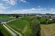 Das Gebiet Unterfeld soll überbaut werden. (Bild: Stefan Kaiser / Neue ZZ)