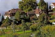 Das historische Gebäudeensemble des Salesianums in Zug soll durch moderne Wohnbauten ergänzt werden. (Archivbild Werner Schelbert)