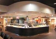 Blick ins frühere Sessibon-Restaurant in Lachen. (Bild pd)