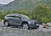 Der Skoda Kodiaq belebt schon bald in vielen Varianten den Markt der kompakten Autos mit Offroadqualitäten, starker Technik und grossem Raumangebot. Bilder PD