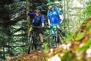 Ab dem nächsten Frühling werden Biker den Zugerberg-Trail nutzen können. (Bild PD)