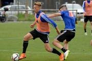 Spielt neu für den FC Luzern: Nico Brandenburger. (Bild: Keystone / Urs Flüeler)