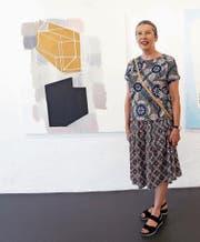 Die Luzerner Künstlerin Anna Margrit Annen stellt in der Zuger Galerie Renggli neue Werke aus. (Bild: Werner Schelbert (26. August 2017))