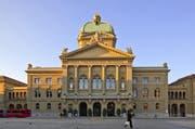 Nach Bern ins Bundeshaus wollen weniger Frauen. (Bild: Keystone)