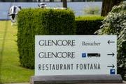 Glencore hat erneut einen Millionenverlust zu verbuchen. (Bild: SIGI TISCHLER (KEYSTONE))