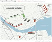 Visualisierung des Vorprojekts Parkhaus Musegg. (Bild: Musegg Parking AG / Grafik: Lea Siegwart)