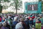 Wird es dieses Jahr nicht geben: Übertragung des Eröffnungskonzertes des Lucerne Festivals auf dem Inseli. (Bild: LF/Patrick Hürlimann (12. 8. 2016))