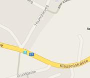 Die Einfahrt von der Klausenstrasse in den Neumühleweg in Bürglen wird saniert. (Bild: Google Maps)